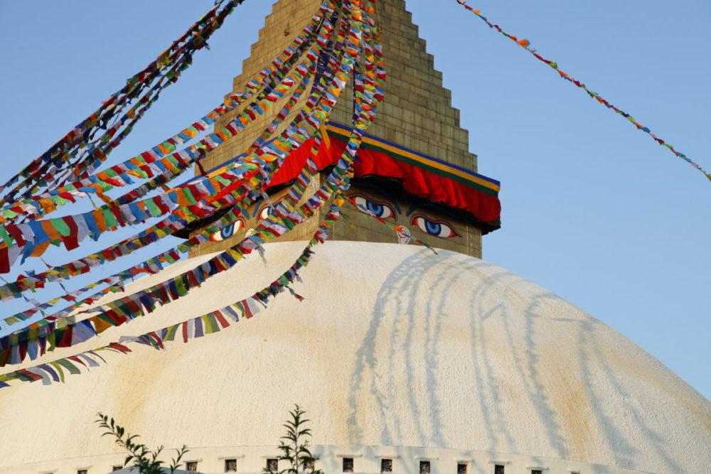 Nepal, Bodnath, Stupa