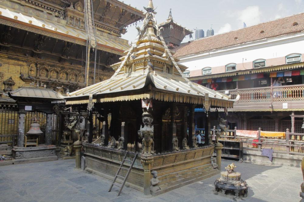 Nepal KTM Golden Tempel