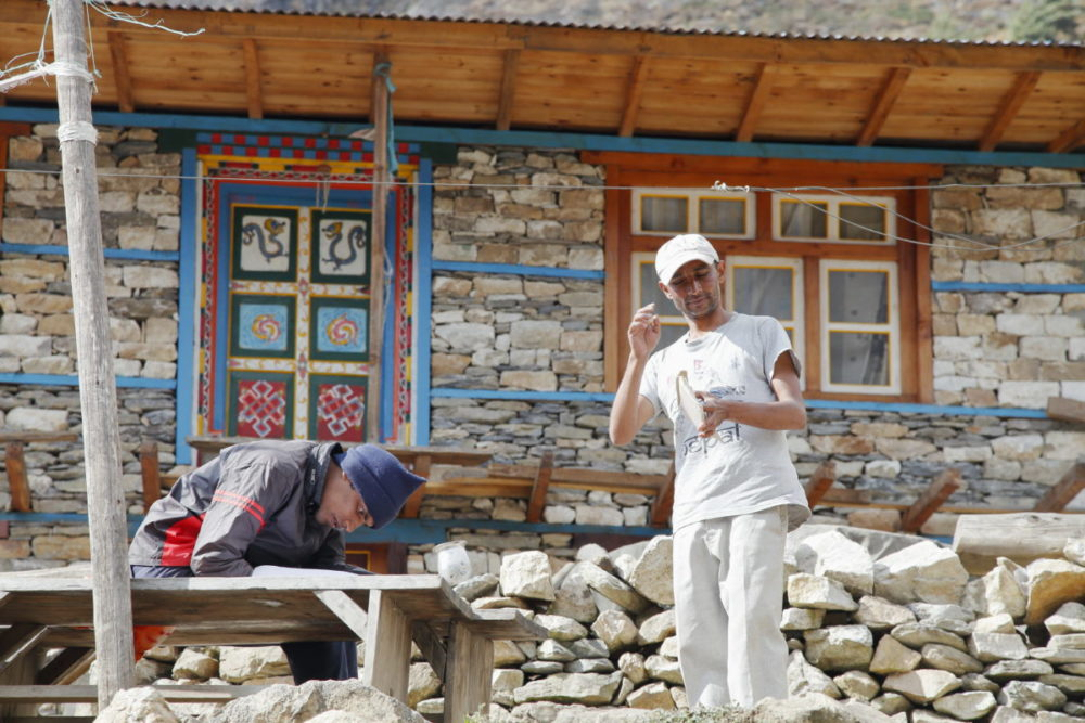 Nepal, Manaslu, Tsum Valley, Trekking, Wandern, Himalaya, checkpoint