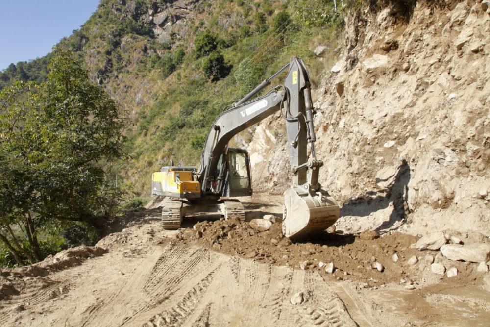 Nepal, Annapurna, Manaslu, Tsum Valley, Trekking, Wandern, Himalaya, Annapurna Straßenbau