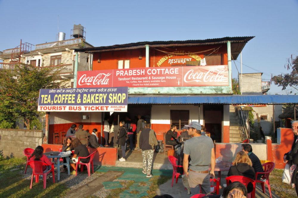 Pokhara, Pokhara Busbahnhof, Pokhara bus station