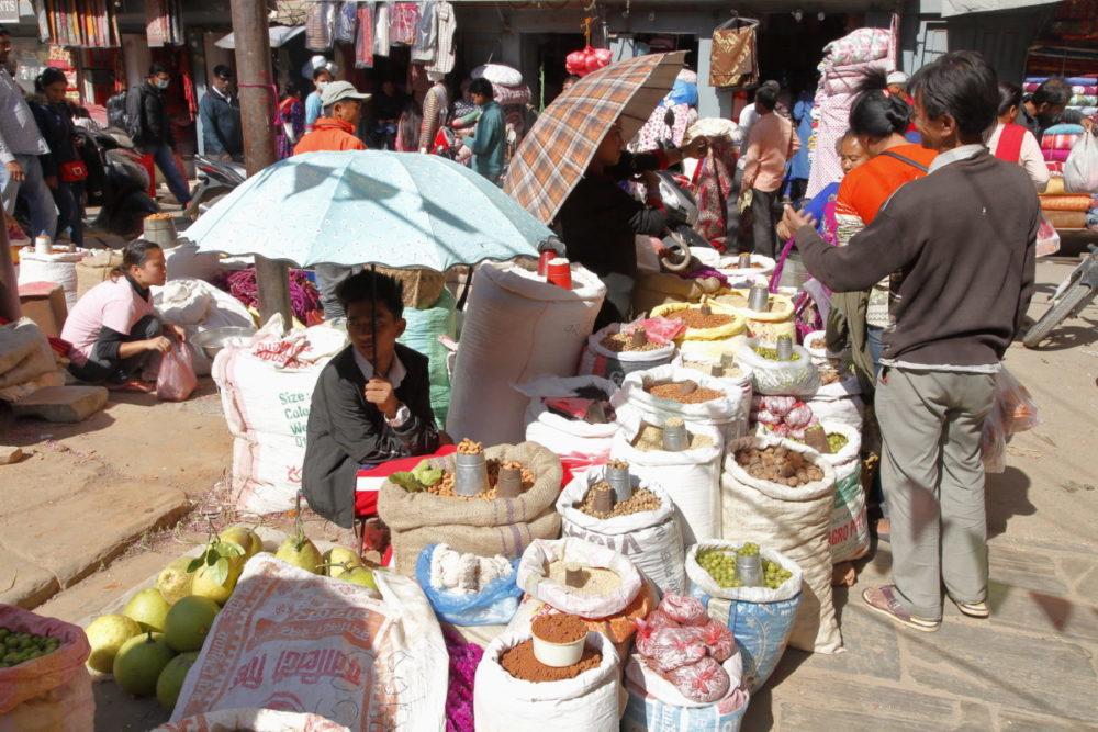 Nepal Kathmandu, Kathmandu Thamel, Nepal Gewürze