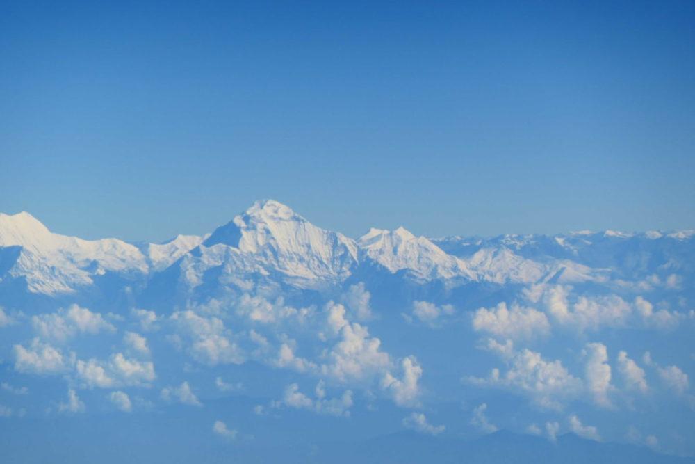 Nepal Anflug