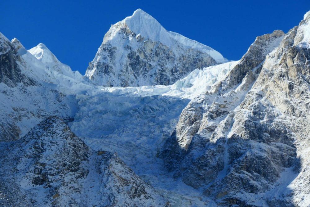 Nepal, Manaslu, Tsum Valley, Trekking, Wandern, Himalaya, Gletscher